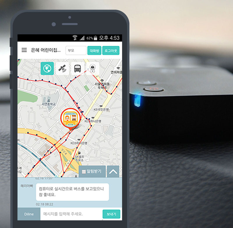 Location Tracker for Vehicles Location Tracking
